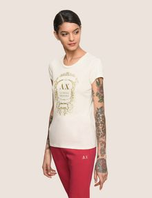 ARMANI EXCHANGE T-shirt con logo Donna f