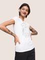 ARMANI EXCHANGE Logo-T-Shirt Damen a