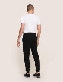 ARMANI EXCHANGE METALLIC LOGO JOGGER Fleece Pant Man e