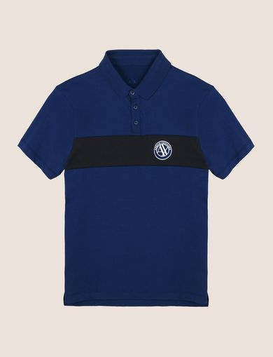 ORGANIC COTTON STRIPE POLO