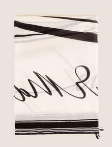 ARMANI EXCHANGE ロゴプリント スカーフ スカーフ レディース e