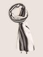 ARMANI EXCHANGE ロゴプリント スカーフ スカーフ レディース f