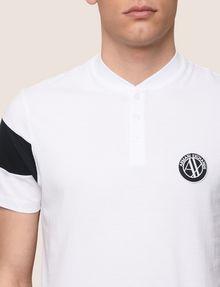 ARMANI EXCHANGE Kurzärmeliges Poloshirt Herren b