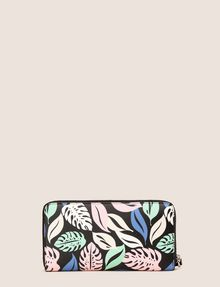 ARMANI EXCHANGE LEAF PRINT WRISTLET WALLET Wallet Woman r