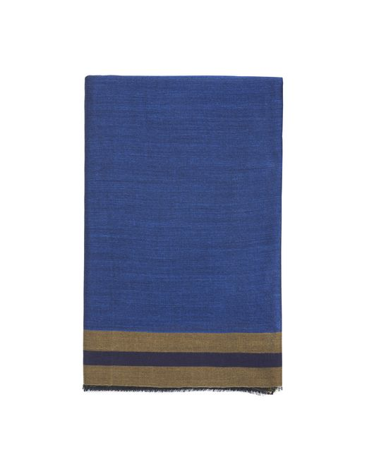 BLUE STRIPED SCARF - Lanvin