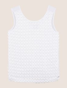 ARMANI EXCHANGE PAILLETTE DOT TOP S/S Knit Top Woman r