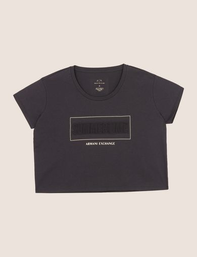 ARMANI EXCHANGE T-Shirt mit Grafik Damen R