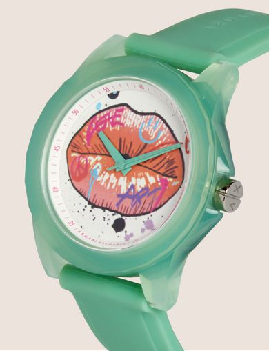 AX STREET ART SERIES LOX SLEEK WATCH