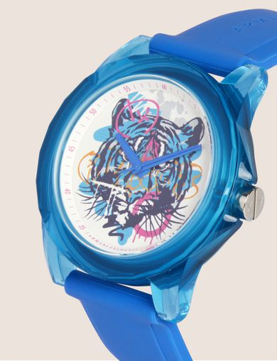 AX STREET ART SERIES ALEX LEHOURS SLEEK WATCH