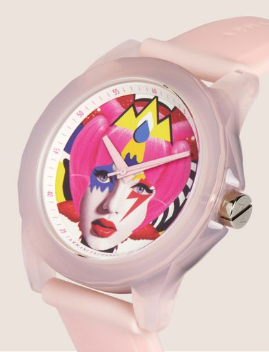 AX STREET ART SERIES VALENTINA BROSTEAN SLEEK WATCH