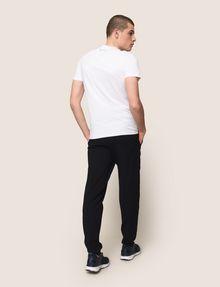 ARMANI EXCHANGE OVERSIZE A|X STRIPE TEE Logo T-shirt Man e