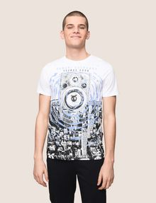 ARMANI EXCHANGE STEREO LOGO GRAPHIC TEE Logo T-shirt Man f