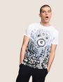 ARMANI EXCHANGE STEREO LOGO GRAPHIC TEE Logo T-shirt Man a
