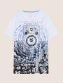 ARMANI EXCHANGE STEREO LOGO GRAPHIC TEE Logo T-shirt Man r