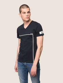 ARMANI EXCHANGE MINIMAL BOXED V-NECK TEE Graphic T-shirt Man f