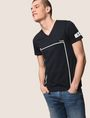 ARMANI EXCHANGE MINIMAL BOXED V-NECK TEE Graphic T-shirt Man a