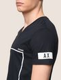 ARMANI EXCHANGE MINIMAL BOXED V-NECK TEE Graphic T-shirt Man b