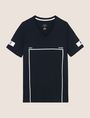 ARMANI EXCHANGE MINIMAL BOXED V-NECK TEE Graphic T-shirt Man r