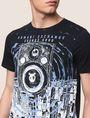 ARMANI EXCHANGE STEREO LOGO GRAPHIC TEE Logo T-shirt Man b