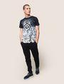 ARMANI EXCHANGE STEREO LOGO GRAPHIC TEE Logo T-shirt Man d