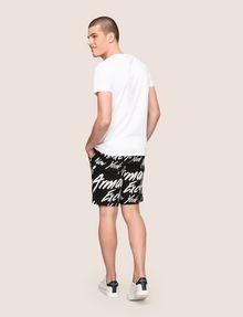 ARMANI EXCHANGE BLURRED SKYLINE LOGO TEE Logo T-shirt Man e