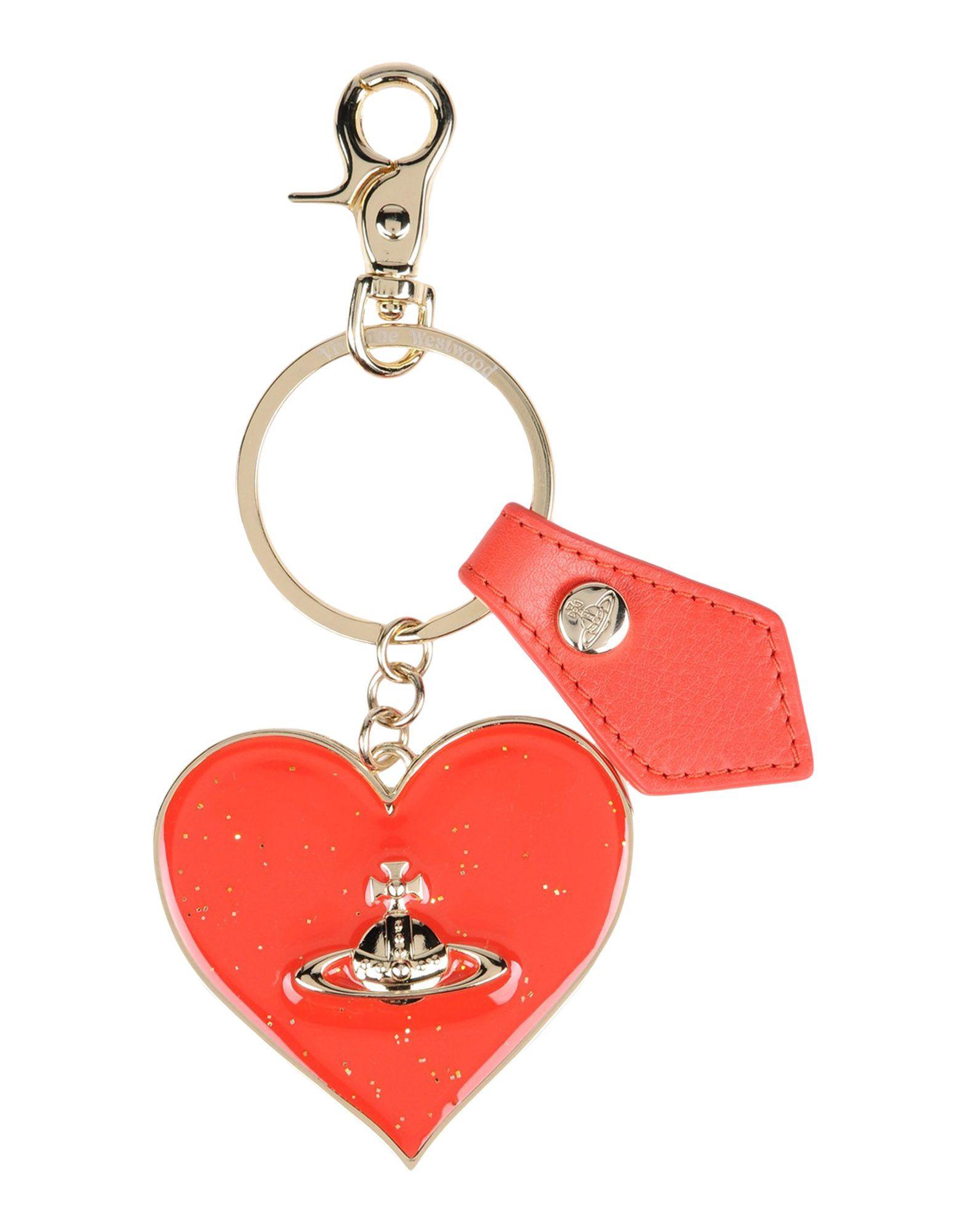 Key Ring, Red