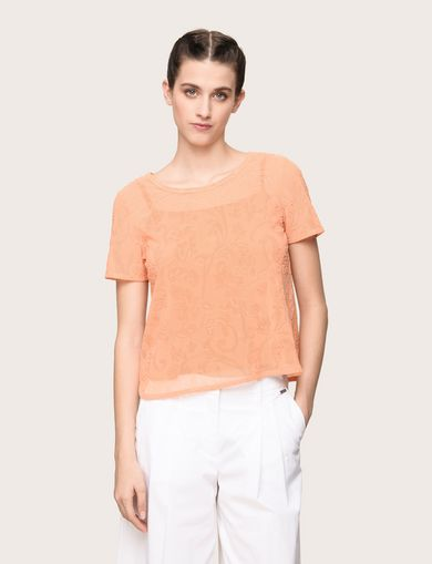 ARMANI EXCHANGE Top estampado Mujer F