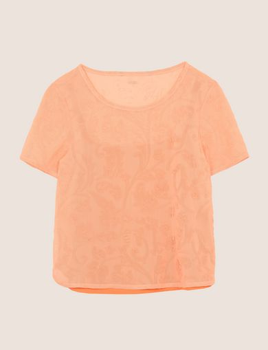 ARMANI EXCHANGE Top estampado Mujer R