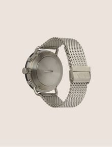 ARMANI EXCHANGE SILVER-TONED HYBRID SMARTWATCH Hybrid Watch E e