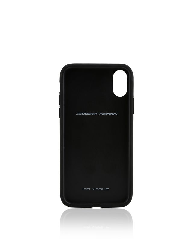 Scuderia Ferrari Online Store - Cover in tessuto morbido per iPhone X - Cover&Other Small Leather Good