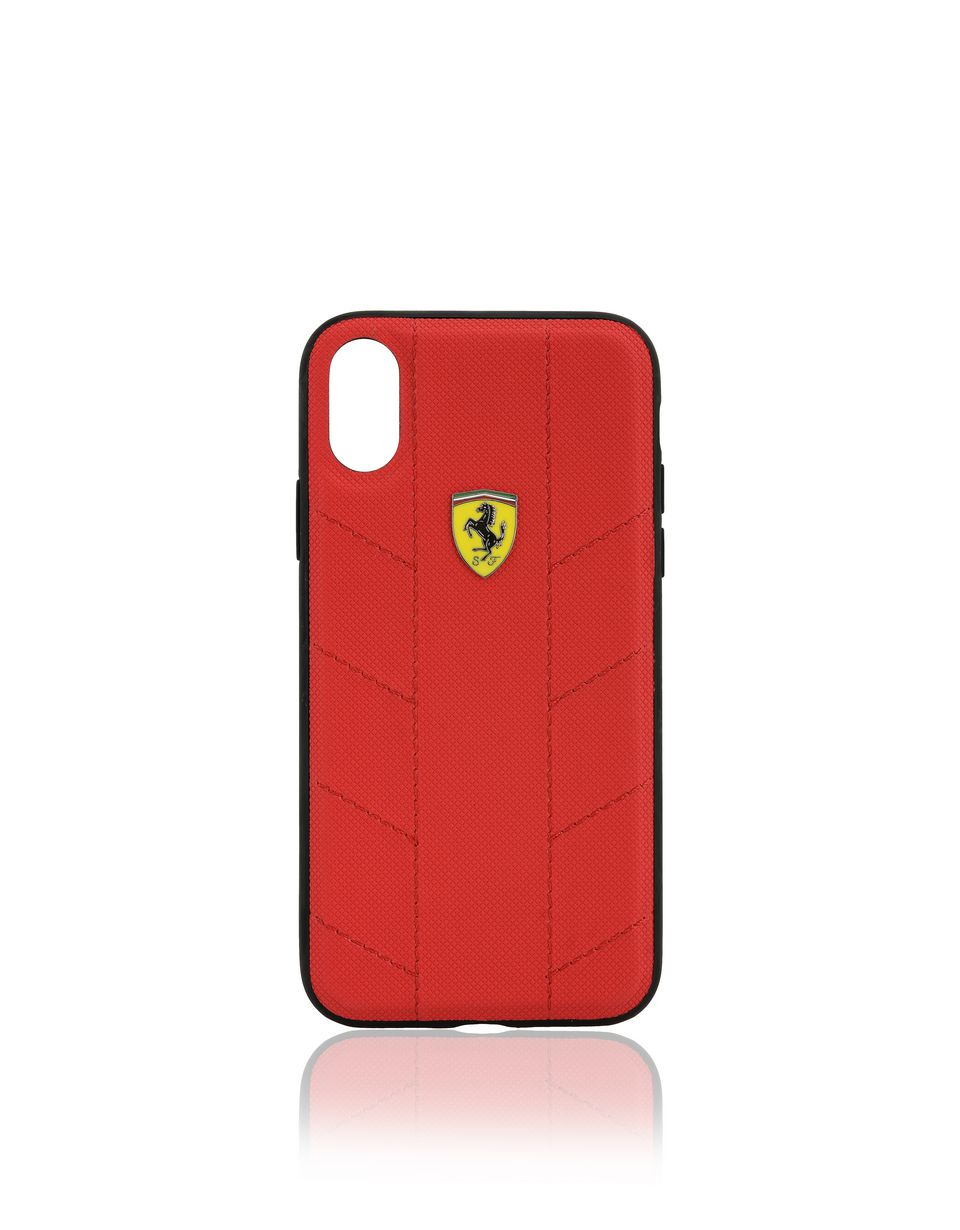 Scuderia Ferrari Online Store - iPhone X 仿皮手机壳 - Cover&Other Small Leather Good