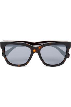 BALENCIAGA D-frame tortoiseshell acetate sunglasses