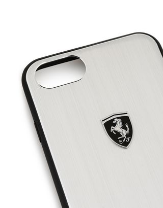 Scuderia Ferrari Online Store - Aluminium case for iPhone 8 - Cover&Other Small Leather Good