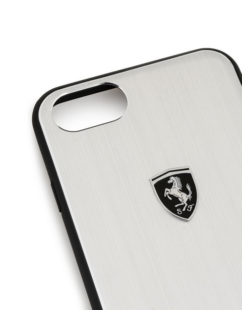 Scuderia Ferrari Online Store - Funda de aluminio para iPhone 8 - Cover&Other Small Leather Good