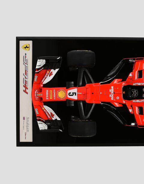 Scuderia Ferrari Online Store - フェラーリ SF70-H モデルカー 1:18スケール Sebastian Vettel - 1:18スケール モデルカー