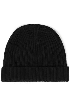 AUTUMN CASHMERE Ribbed-knit beanie