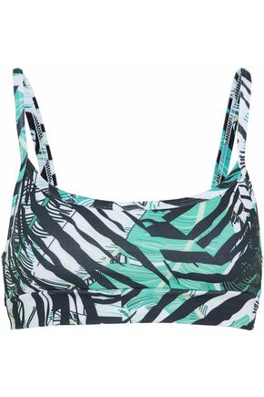 BODYISM Printed stretch sports bra