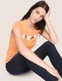 ARMANI EXCHANGE Logo T-shirt Woman a
