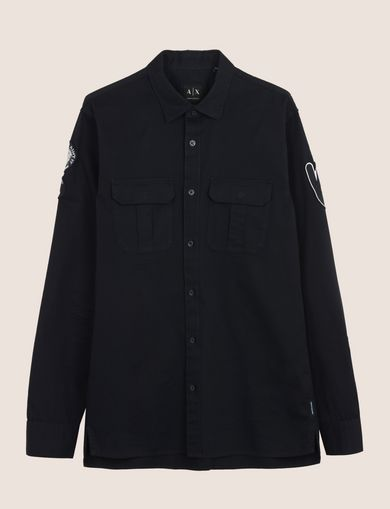 PEACE PATCH UTILITY SHIRT