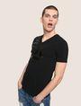ARMANI EXCHANGE Vネック ロゴTシャツ ロゴTシャツ メンズ a
