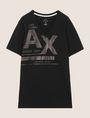 ARMANI EXCHANGE Vネック ロゴTシャツ ロゴTシャツ メンズ r