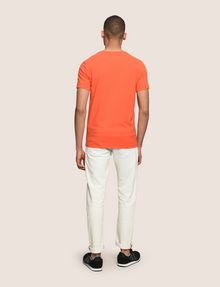 ARMANI EXCHANGE HEADPHONE LOGO GRAPHIC TEE Logo T-shirt Man e