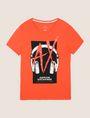 ARMANI EXCHANGE HEADPHONE LOGO GRAPHIC TEE Logo T-shirt Man r