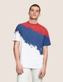 ARMANI EXCHANGE TRICOLOR PAINT LOGO TEE Non-logo Tee Man f