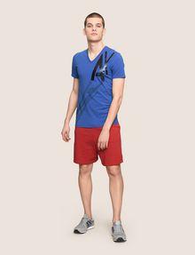 ARMANI EXCHANGE CAST A SHADOW V-NECK TEE Logo T-shirt Man d
