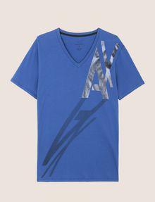 ARMANI EXCHANGE CAST A SHADOW V-NECK TEE Logo T-shirt Man r