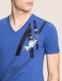 ARMANI EXCHANGE CAST A SHADOW V-NECK TEE Logo T-shirt Man b