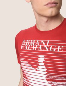 ARMANI EXCHANGE Graphic T-shirt Man b