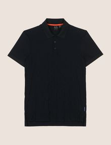 ARMANI EXCHANGE LOGO DIAMOND JACQUARD POLO SHORT SLEEVES POLO Man r
