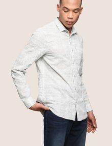 ARMANI EXCHANGE PAISLEY PRINT SHIRT Long sleeve shirt Man a